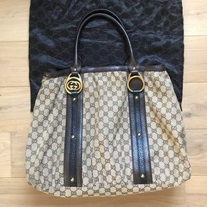 Gucci Large Interlocking G Tote